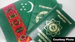 Türkmen pasporty.