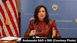 Заступник держсекретаря США з публічної дипломатії та зв'язків з громадськістю Тера Саненшайн