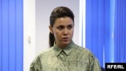 "Natalia Morari, moderatoarea emisiunii ""Punct și de la capat"""