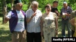 Акъяр (Севастополь) Сабантуе, уртада Җәмил Хисаметдинов, 17 июнь 2012