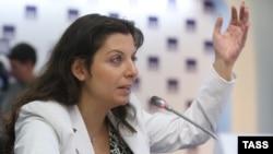 Главный редактор «Russia Today» Маргарита Симоньян