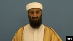 """Усама бен Ладен, лидер террористической группировки """"Аль-Каида""""."""