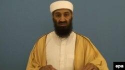 """Усама бен Ладен, """"Әл-Қаида"""" ұйымының бұрынғы басшысы."""