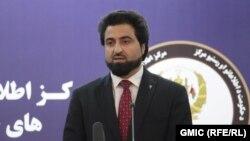 د افغانستان د کورنیو چارو وزارت ویاند نصرت رحیمي
