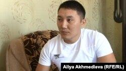 Талдықорған қаласының ішкі істер басқармасы бұрынғы тергеушісі Ақзат Ниязбеков.