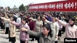 Protestë në Korenë Veriore kundër Koresë së Jugut