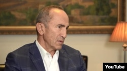 Второй президент Армении Роберт Кочарян (архив)