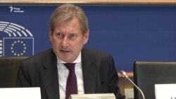 Єврокомісар Ган закликає ЄС пришвидшити «безвіз» для України