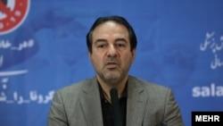 علیرضا رئیسی، معاون وزیر بهداشت ایران و سخنگوی ستاد ملی مقابله با کرونا