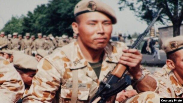 Участник ирано-иракской войны Абдолкарим Казах. Фото из семейного альбома.