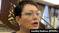Azerbaijan -- Member of Parliament Elmira Akhundova, Baku, 21Dec2010