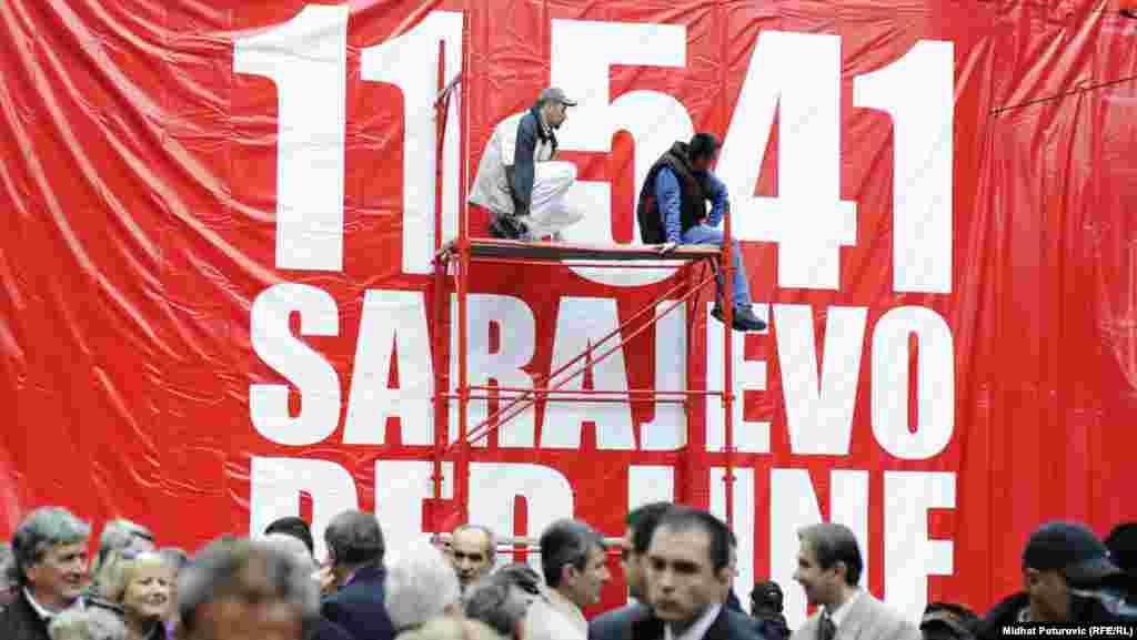 Sarajevo, 06.april 2012. Foto: RSE / Midhat Poturović