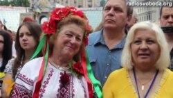 Народнае веча ў Кіеве: Клічко прымае прысягу мэра і распавядае пра будучыню Майдану