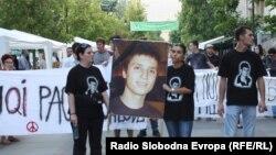Еден од протестите против полициска бруталност