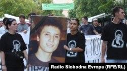 Протестите во 2011 година по смртта на Мартин Нешкмоски.