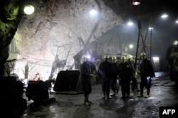 Rudari u rudniku, Srbija, fotoarhiv