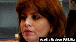Azerbaijan -- Member of Parliament Guler Ahmedova, 2001