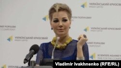 Оперная певица Мария Максакова.