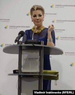 На пресс-конференции в Киеве