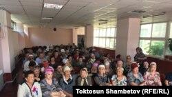 Участники встречи в селе Арашан. 20 июля 2018 года