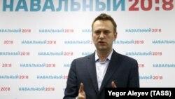 Оппозиционный политик Алексей Навальный.