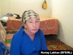 Гульбаршин Мамырова, жительница поселка Шанырак.