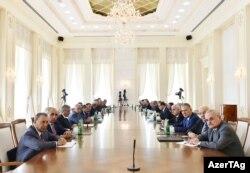 Nazirlər Kabinetinin toplantısı