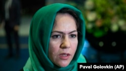 فوزیه کوفی عضو ولسی جرگه و فعال حقوق زنان در روسیه