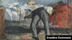 """Картина Эдуарда Мане """"Самоубийство"""""""