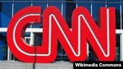CNN телеарнасының логотипі.