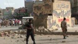 Pakistani Rangers Injured In Karachi Attack