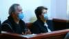 Ивери Мелашвили и Наталья Ильичева в зале суда