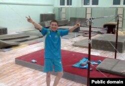 Даулет Нарметов, член сборной Узбекистана по спортивной гимнастике.