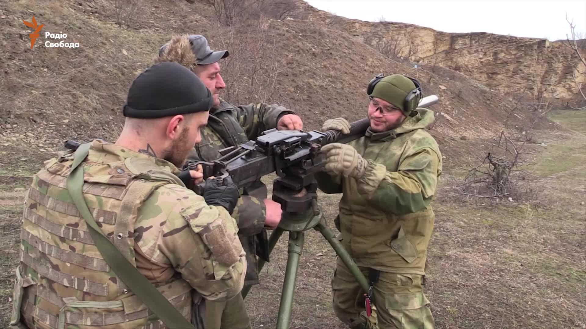Спецпідрозділ «Хорт» розробив глушитель-полум'ягасник для кулемета (відео)