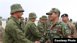 Russian soldiers arrived in Pakistan for the two countries' inaugural joint military exercise, officials said on September 23.