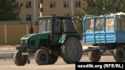 По мнению экспертов, в Узбекистане у большинства тракторов и прицепах не работают системы внешнего освещения.