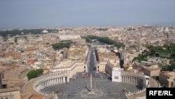 ساحة القديس بطرس في الفاتيكان