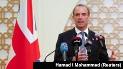 دومینیک راب٬ وزیر خارجه بریتانیا
