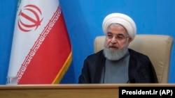 İran prezidenti Hassan Rohani , 25 iyun, 2019