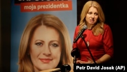 Politiciana slovacă Zuzana Caputova