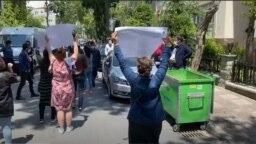 Акция протеста граждан Туркменистана, Стамбул, 29 мая, 2020
