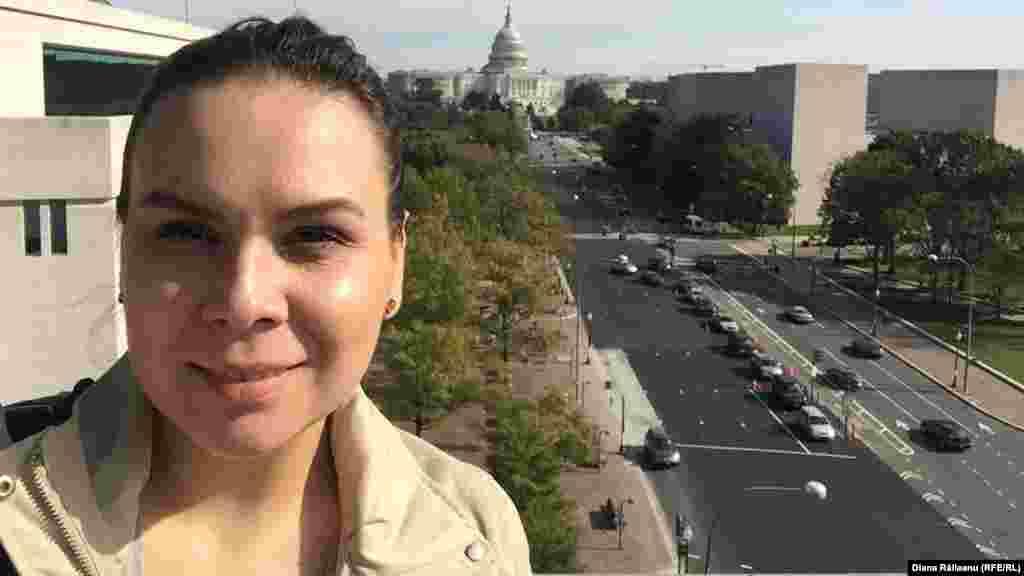 Diana Răileanu la Washington DC