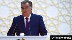 Эмомали Рахмон, президент Таджикистана
