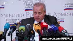 Посол России в Армении Сергей Копыркин (архив)