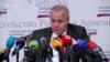 Посол РФ в Армении Сергей Копыркин на пресс-конференции, Ереван, 11 июня 2019 г․