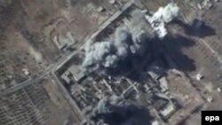 Սիրիա - Ռուսական օդուժի կողմից ռմբահարված թիրախ Իդլիբ նահանգում, 12-ը հոկտեմբերի, 2015թ․