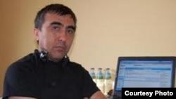 Uzbekistan - Uzbek journalist living in Canada Ulugbek Haydarov, undated