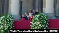 Новий король Бельгії Філіп із родиною