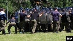 Полициска единица за брза распределба, архивска фотографија