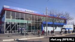 Magazin Sheriff la Tiraspol, în plină epidemie de coronavirus